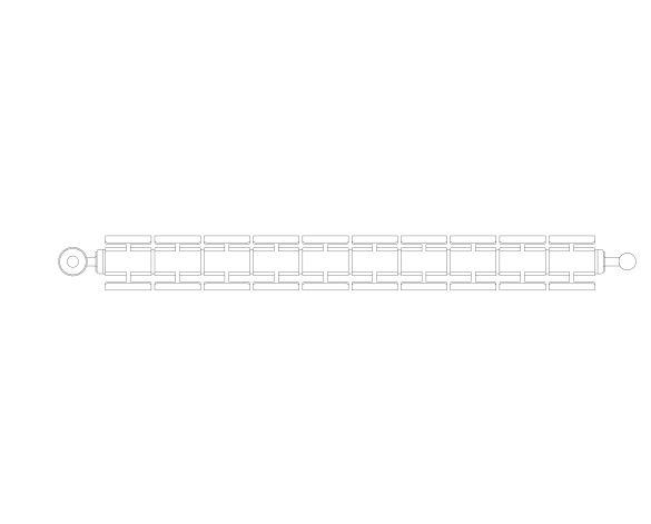 bimstore plan image of the Faral Alliance Aluminium Radiator from AEL Heating.