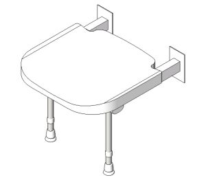 Product: 4000 Series Standard Shower Seat
