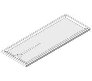 Product: Braddan Shower Tray 1800mm x 700mm