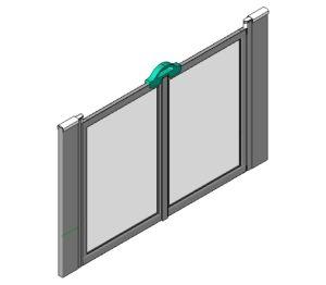 Product: Standard Shower Screen Option M