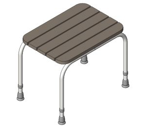 Product: Wooden Shower Stool