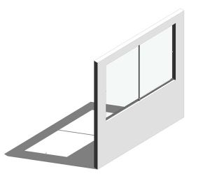Product: Horizontal Sliding Hatch Kit (2 Panel)