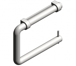 Product: Modric Toilet Roll Holder (SS2440)