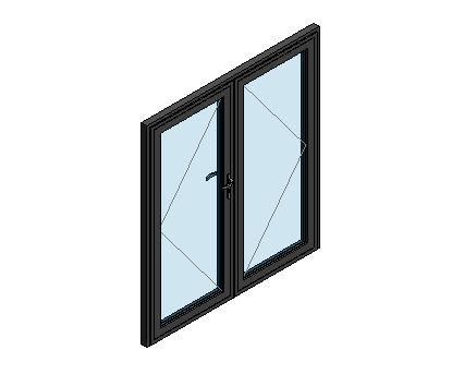 Revit, BIM, Download, Free, Components, Door, Doors, Commercial, AluK, 58BD,Residential,Double,Door, System, Curtain, Wall,  Blyweert, Beaufort, Double,ground,floor,treatment,system,thermal,break