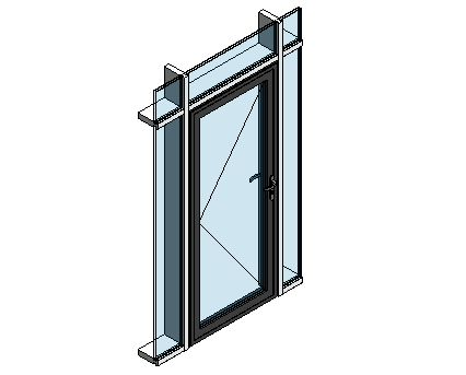 Revit, BIM, Download, Free, Components, Door, Doors, Commercial, AluK, 59BD,Residential,Single,Door, System, Curtain, Wall,  Blyweert, Beaufort, Double,ground,floor,treatment,system,thermal,break