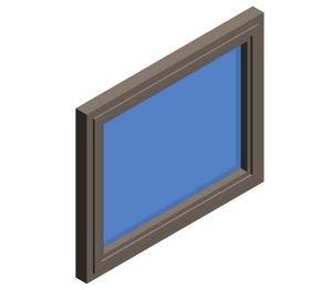 Product: AluK 72BW HI TBT Internally Glazed Curtain Window System