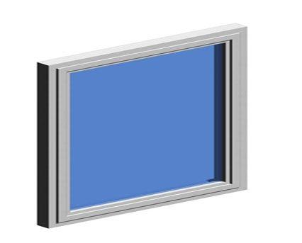 Image of AluK 72BW HI TBT Internally Glazed Window