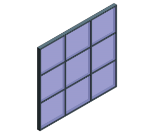 Product: AluK SL52 P 52_400 Curtain Wall System