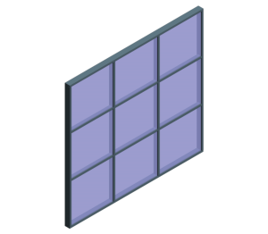 Product: AluK SL52 P 52_401 Curtain Wall System