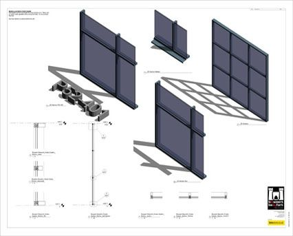 Image of AluK SL52 P 52_401 Curtain Wall System