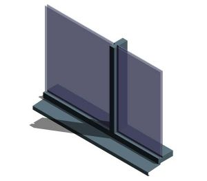 Product: AluK SL52 P 52_402 Curtain Wall System