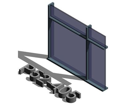 Image of AluK SL52 P 52_405 Curtain Wall System