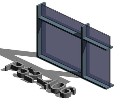 Image of AluK SL52 P 52_406 Curtain Wall System