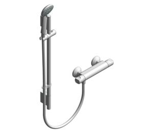 Product: Midas™ 100 Bar Mixer Shower