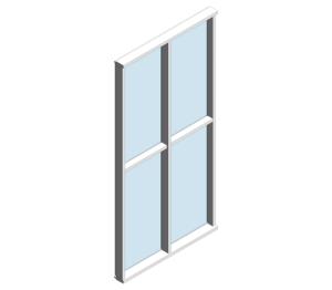 Product: MU800 SG (Toggle Glazed Curtain Wall System)