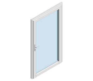 Product: TS66 MU800 HI - Standard Single Door