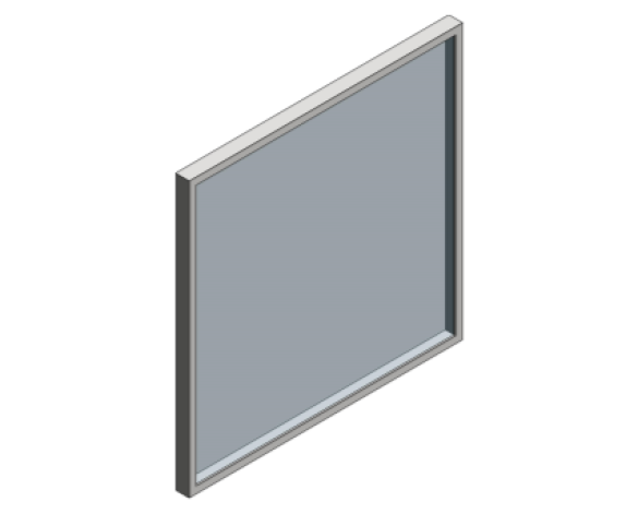 Revit, Bim, Store, Components, Generic, Model, Object, 13, American, Specialties, Inc., Angle, Frame, Mirror, 0600