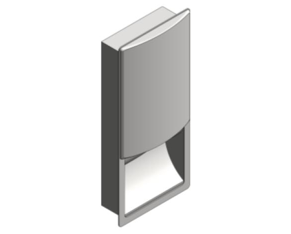 Revit, Bim, Store, Components, Generic, Model, Object, 13, American, Specialties, Inc., Paper, Towel, Dispenser, 20452