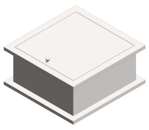 Product: Pass Through Specimen Cabinet (8154)