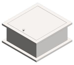 Product: Pass Through Specimen Cabinet (8154)