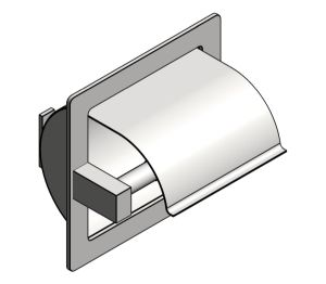 Product: Recessed Toilet Tissue Holder (7402-H)