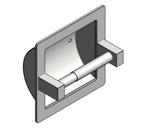 Product: Recessed Toilet Tissue Holder (7402)