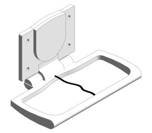 Product: Surface Mounted Baby Changing Station (9012)