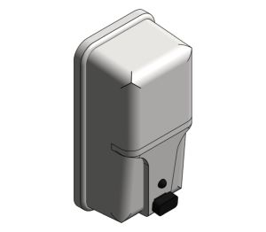 Product: Surface Mounted Vertical Soap Dispenser (20363)