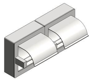Product: Toilet Tissue Dispenser Holder (74022-HSM)