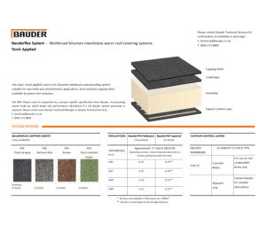 Product: Bauderflex Warm Roof (Torch Applied)