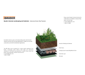 Product: Intensive Green Roof System