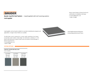 Product: LiquiDEK Cold Roof (Cold Applied)