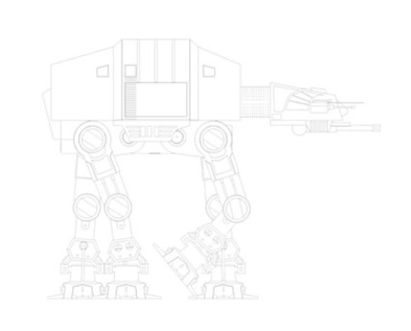 Revit, BIM, Download, Free,Components,Object,star,wars,AT-AT,all,terrain,armored,transport,walker