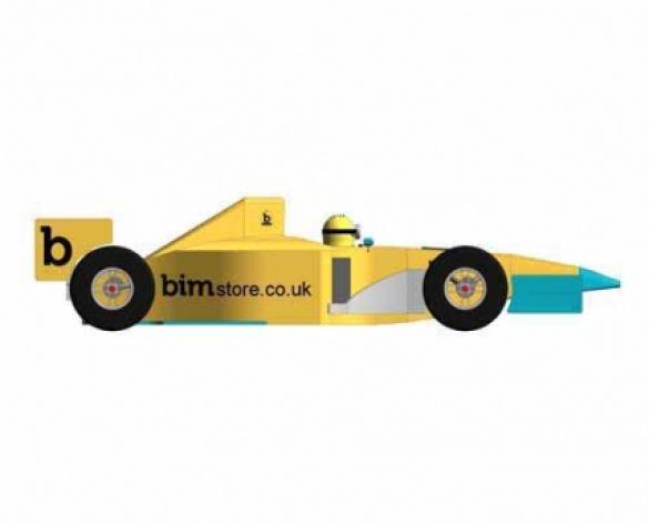 Revit, BIM, Download,Free,Components,Object,Formula,1,F1,team,Car,Ferrari,One,BIM,World