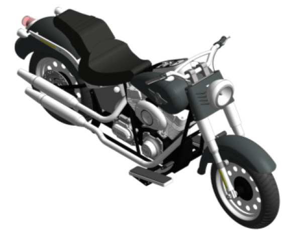 Revit, BIM, Download,Free,Components,Object,BIM,World,harley,davidson,fatboy,2014,bike,motor,motorcycle
