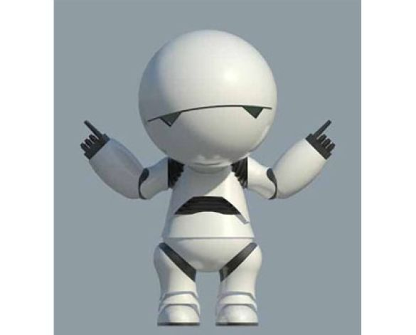 Marvin,Android,Paranoid,Hitchhiker,Guide,To,The,Galaxy,Robot,GPP,Genuine,People,Personalities,BIM,Revit,Download,Free,BIMgeek,Geek,