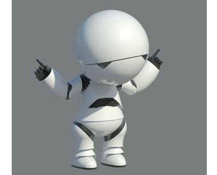 Marvin,Android,Paranoid,Hitchhiker,Guide,To,The,Galaxy,Robot,GPP,Genuine,People,Personalities,BIM,Revit,Download,Free,BIMgeek,Geek,