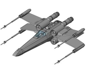 Product: T-65 X-Wing Starfighter