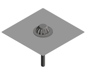 image of Bitumen Collar Emergency Roof Drain - Siphonic - 403.20