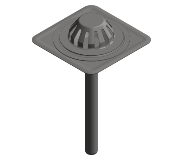 Image of Single Ply Emergency Roof Drain - Siphonic - 402.20