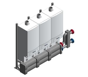 Product: GB162 Gas-Fired Condensing Boiler (Cascade)