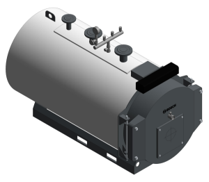Product: Uni 3000F Steel Hot Water Boiler