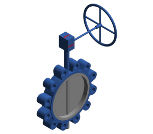 Product: Gear Operated Fully Lugged Butterfly Valve - PN16