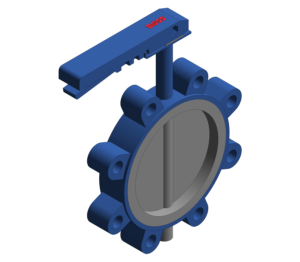 Product: Butterfly Valve - Fully Lugged Lever Operated