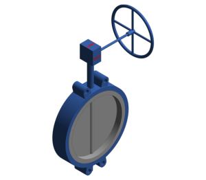 Product: Butterfly Valve - Semi Lugged Gear Operated