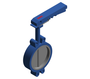 Product: Butterfly Valve - Semi Lugged Lever Operated