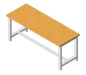 Product: Cubio Heavy Duty Work Bench