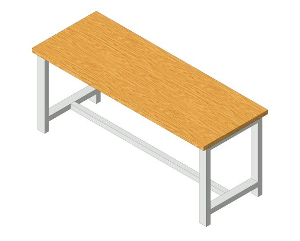 Product: Cubio Heavy Duty Work Bench