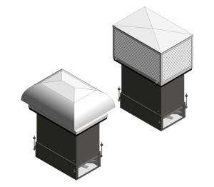 Product: R-Series - Stack Based Mixed Ventilation