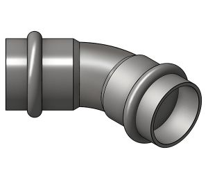 Product: 45 Degree Obtuse Elbow - (PC5041)